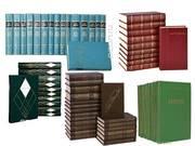 Многотомные издания русских классиков- Пушкин,  Толстой,  Чехов,  и др.